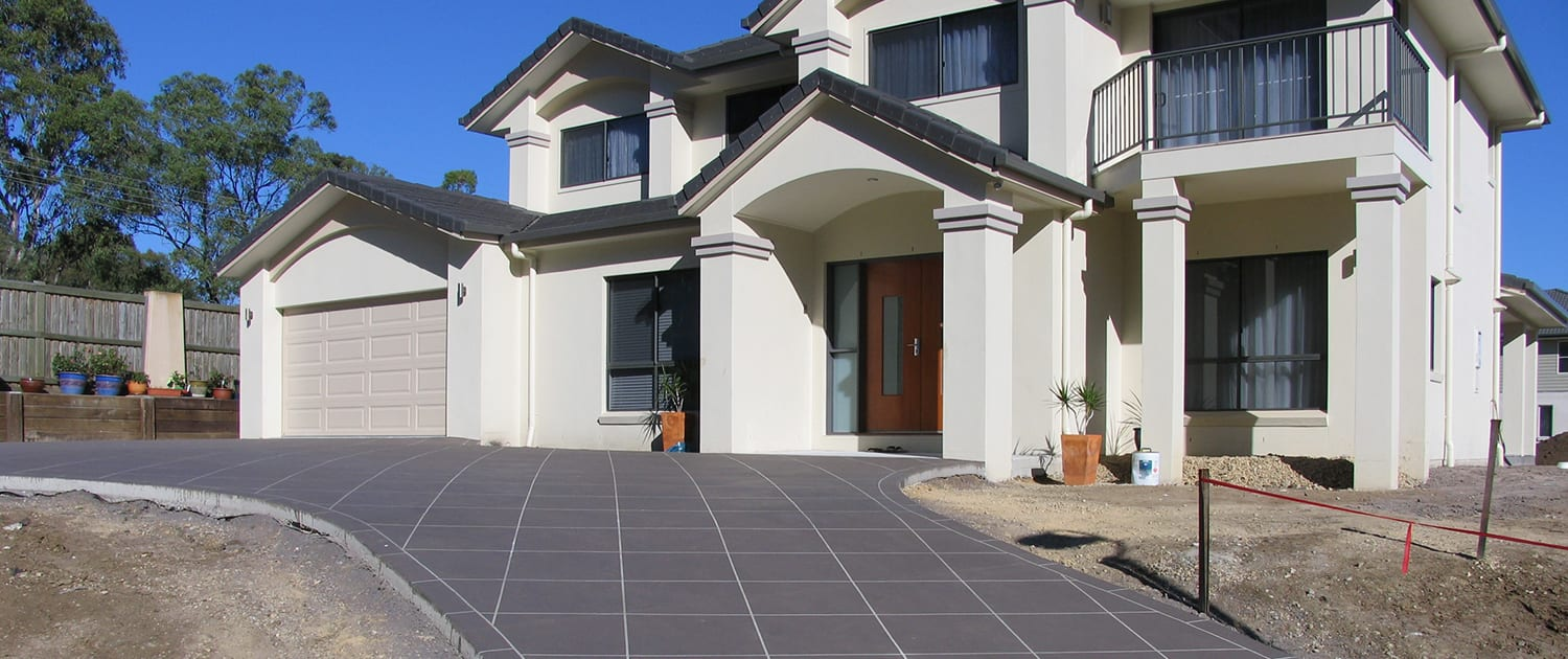 Concrete Driveways Sunshine Coast - competitive prices, local team of concrete experts