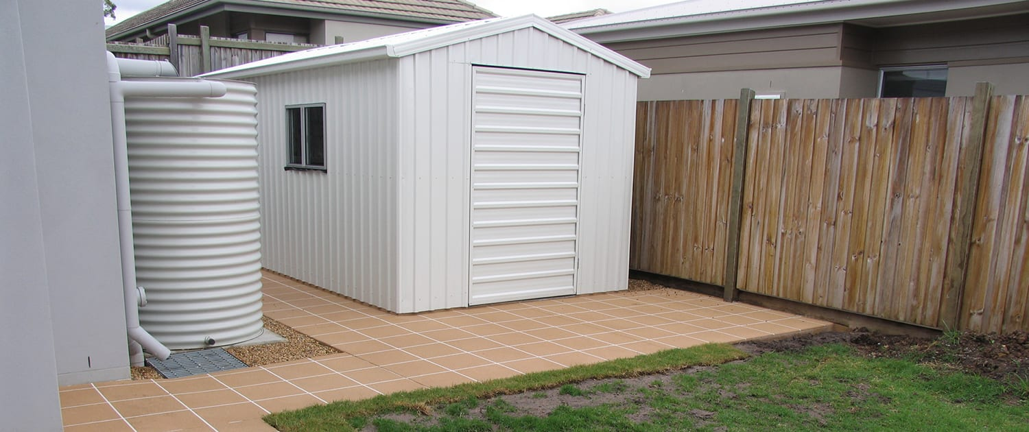 Concrete Shed Slabs Sunshine Coast - concrete slabs for garden sheds entertaining areas