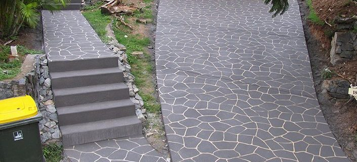 Concrete Footpath Restoration - safe robust finishes,