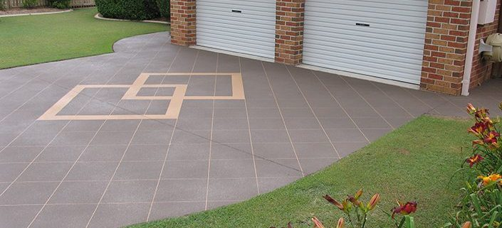 Stencil Concrete Driveway Sunshine Coast - suit your budget and taste